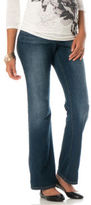 Motherhood Indigo Blue Long Secret Fit Belly® Signature Pocket Boot Cut Maternity Jeans