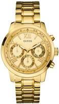 GUESS Gold-Tone Feminine Classic Sport Watch