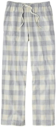 L.L. Bean Women's L.L.Bean Flannel Sleep Pants, Plaid