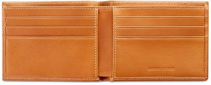Perry Ellis Men's Super-Slim Leather Wallet