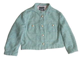 Moschino Green Tweed Jackets