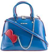 Love Moschino heart chain medium tote