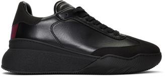 Stella McCartney Black Loop Lace-Up Sneakers