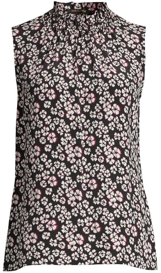 Kobi Halperin Maggie Floral Silk Blouse