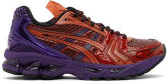 Asics Red and Purple UB1-S Gel-Kayano 14 Sneakers