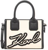 Karl Lagerfeld Women's Holiday Mini Tote Bag Black