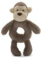Jellycat Infant 'Monkey' Grabber Rattle