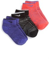 Nike Boy's 3-Pack Low Cut Socks
