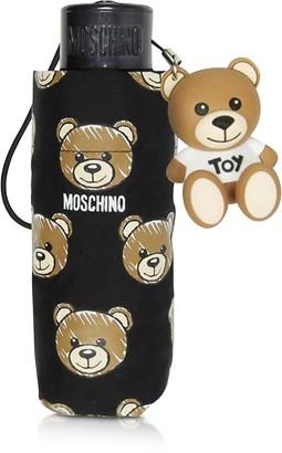 Moschino Brush Bear All-Over Print Super Mini Umbrella