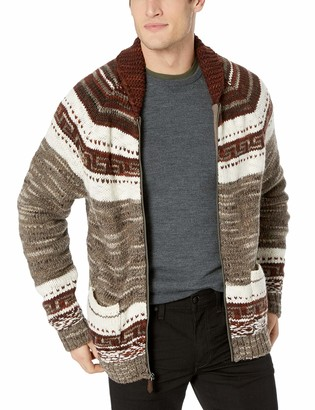 Lucky Brand Men's Heritage Bear COWHICAN Sweater