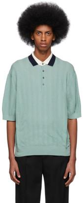 Paul Smith Green Knit Polo