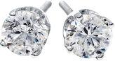 JCPenney FINE JEWELRY 1 CT. T.W. Diamond Stud Earrings 14K White Gold