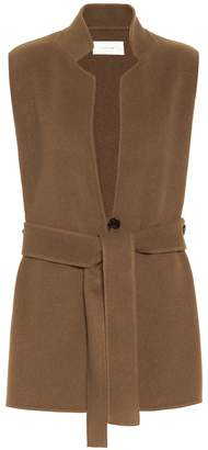 The Row Frieden cashmere and wool vest