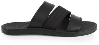 Giorgio Armani Triple-Strap Sandals