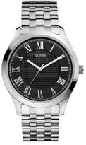 GUESS Mens Classic Stainless Steel Bracelet Watch