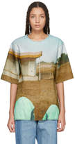 Bless Reversible Multicolor Handprinted T-Shirt