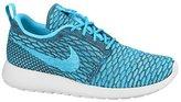 Nike Womens Rosherun Flyknit Running Trainers 704927 Sneakers Shoes (Uk 6 Us 8.5 Eu 40, Dark Grey Clear Water Blue Legion White 003)