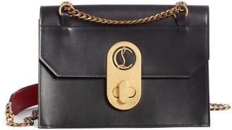 Christian Louboutin Large Elisa Calfskin Leather Shoulder Bag