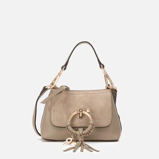 See by Chloe Women's Mini Joan Cross Body Bag - Motty Grey