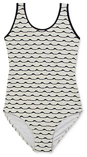 Chloé Girls' Waves Swimsuit - Little Kid, Big Kid