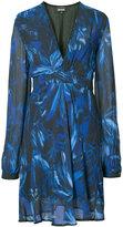 Just Cavalli V-neck dress - women - Viscose - 4