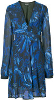 Just Cavalli V-neck dress