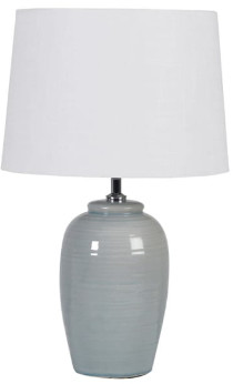 Coach House - Pale Green Table Lamp with Shade