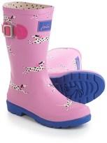 Joules Bon Bon Dalmatian Rain Boots - Waterproof (For Little and Big Girls)