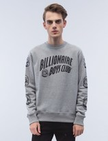 Billionaire Boys Club New Curve Logo Sweatshirt