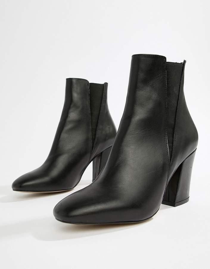 Asos Design DESIGN Evita leather chelsea boots