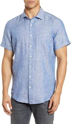 Rodd & Gunn Regular Fit Ellerslie Linen Shirt