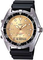 Casio Men's Stainless Steel Analog & Digital Chronograph Watch - AMW320D-9EV