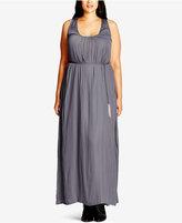 City Chic Plus Size Racerback Maxi Dress