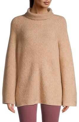 Theory Oversized Ribbed Turtleneck Sweater