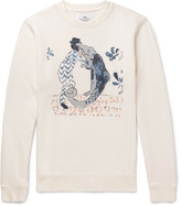 Folk - + Goss Brothers Alligator Printed Loopback Cotton-jersey Sweatshirt