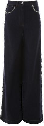 Dolce & Gabbana Crystal-embellished Flare Jeans