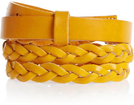 Levi's Braided leather belt