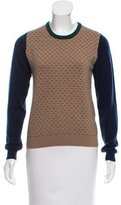 Boy By Band Of Outsiders Tri-Color Cashmere Sweater