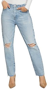 Good American Good Girlfriend Distressed Jeans in Blue637