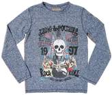 Zadig & Voltaire Skull Camo Printed Cotton Jersey T-Shirt