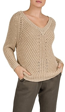Gerard Darel Elodia Cable Knit Sweater