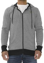 Voi Jeans New Mens Designer Hoodie Sweat North Charcoal Hoody