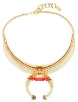 Elizabeth Cole Belle Crystal Collar Necklace