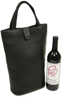 Piel Leather Doulbe Wine Tote