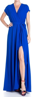 Meghan La Jasmine Slit Maxi Dress
