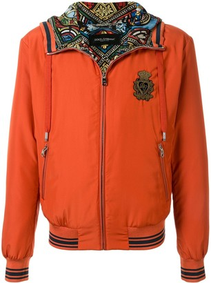 Dolce & Gabbana crown jacket