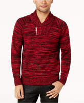 INC International Concepts Men's Two-Tone Shawl-Collar Sweater, Created for Macy's