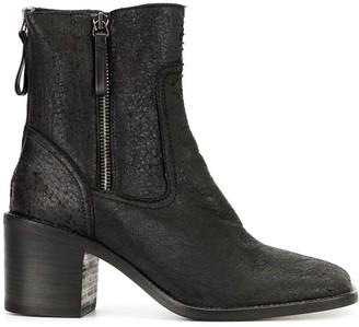 Premiata Zipped Ankle Boots