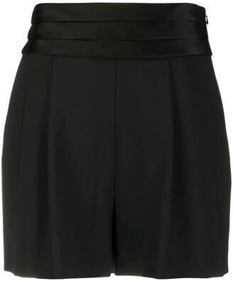 Dvf Diane Von Furstenberg High-Waisted Shorts