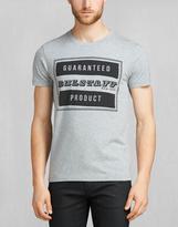 Belstaff Tilbury Crew Neck T-Shirt Mid Grey Melange